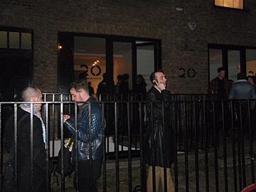 Dustin Yellin en Paint Me A Drink @ 20 Hoxton Square