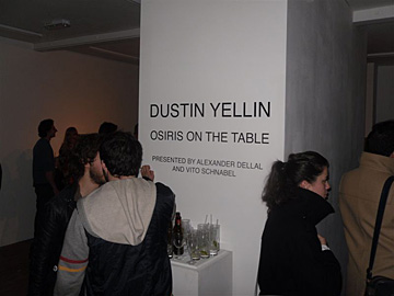 Dustin Yellin en Paint Me A Drink @ 20 Hoxton Square
