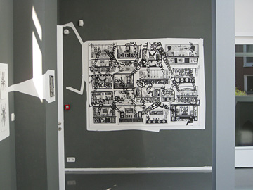 Koen Taselaar @ 21Rozendaal, de opbouw