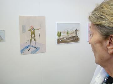 Dingen kijken op de KunstRai