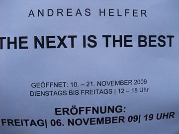 Andreas Helfer @ Atelierhof Kreuzberg