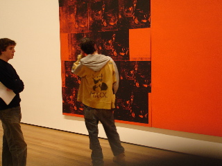 Warhol and Marx at Moma