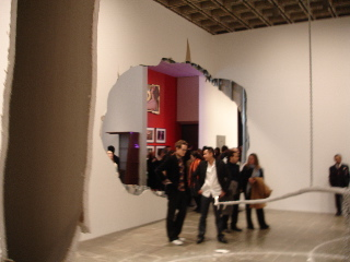 Urs Fisher at Whitney Biennual 2006