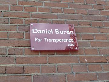 Daniel Buren Par Transparance