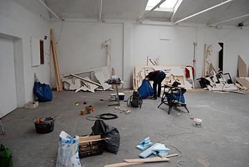 Boris Tellegen @ De Fabriek, de opbouw