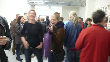 Galerie Frank Taal, de vernissage