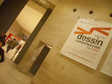 Dessin Contemporain in het Louvre Parijs