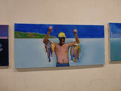 Open atelier Michiel Hogenboom
