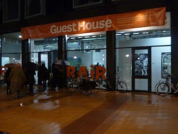 RAiR#3 Guest House, de opening
