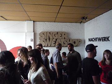 Nachtwerk @ Singer Sweatshop