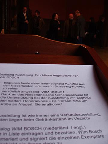 Wim Bosch @ Landeskulturzentrum Salzau