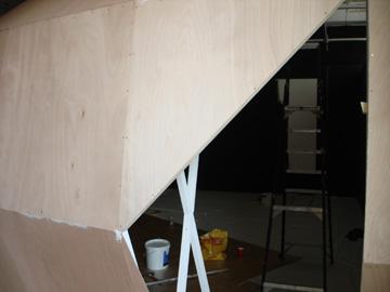 Maya Hayuk en Ben Wolf @ MU, de opbouw