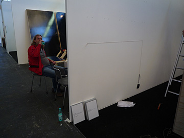 First Virtual Exhibition of Shows, de opbouw