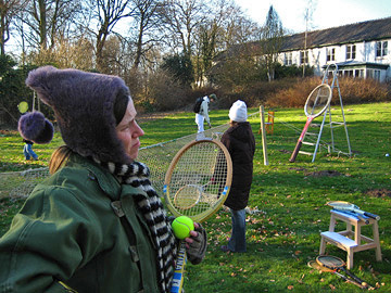 Art & Snowball wintermanifestatie Art & Tennis Club of Kaliningrad @ landgoed Ockenburg