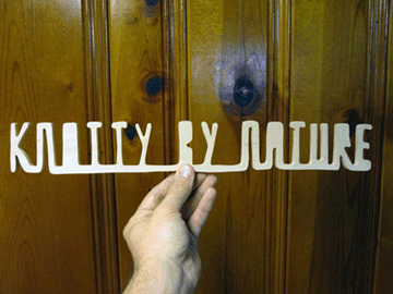 Matthew Hoffman, What wood you say