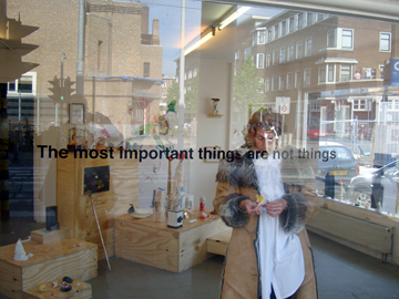 The most important things are not things @ Zoete Broodjes