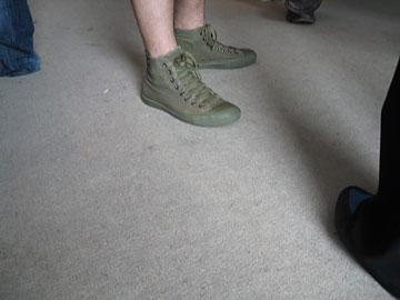 Moderne schoenen voor mooie hippe mensen