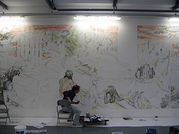 muurschilderingen TENT