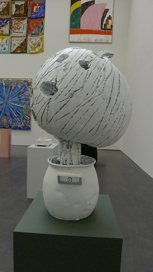 Man over boord in Kunsthalle Dusseldorf