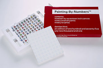 Damian Hirst Painting By Numbers