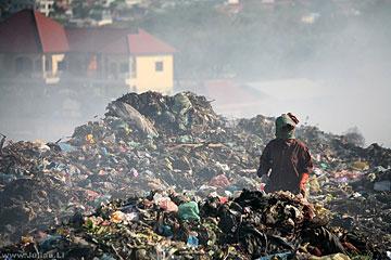 vuilnisbelt Cambodja