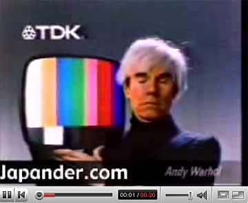 Andy Warhol commercial