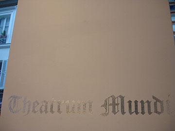 Theatrum Mundi at Anne de Villepoix groupshow