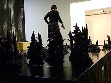 Opbouw Anne Wenzel @ Prix de Rome Witte de With