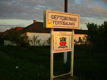 op het platteland ergens in Oekraïne..