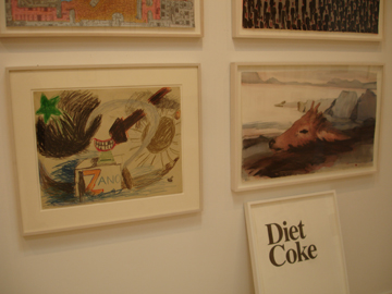 diet coke @ roberts and tilton gallery