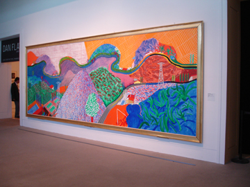 hockney@LA county museum