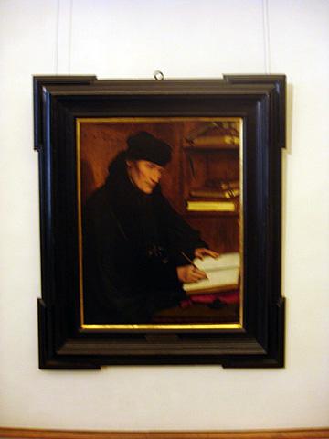 Holbein does Erasmus