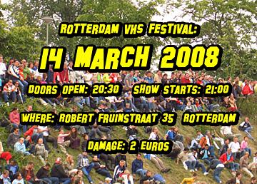 Rotterdam VHS Festival #14: