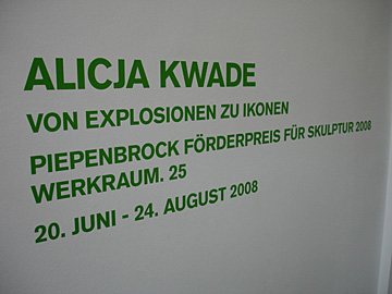 Alicja Kwade @ Hamburger Bahnhof Berlin