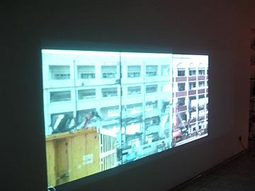 Martin Skauen, Jungju An @ open studios Bethanien