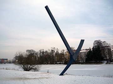 Claes Oldenburg in Kassel