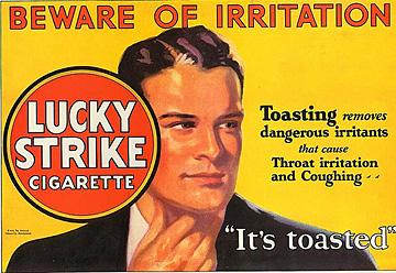 Toen roken nog gezond was