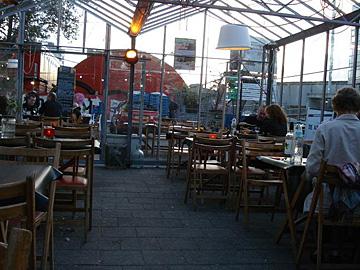 Daarna lekker eten bij De Aalmoes bij Boijmans voor de deur dat kan nog tot 20 september
