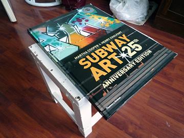 Subway Art, de vijfentwintigste jaar editie