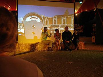 makers van Made in Detroit, regisseurs Mascha en Manfred Poppenk, en cameravrouw Suzan van Steenwijk vertellen over de ervaringen in Detroit