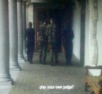 own judge