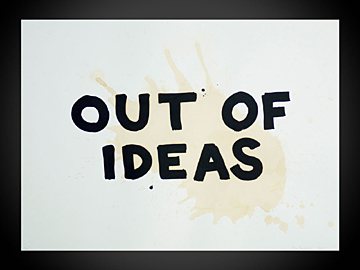 Out of Ideas - coffee