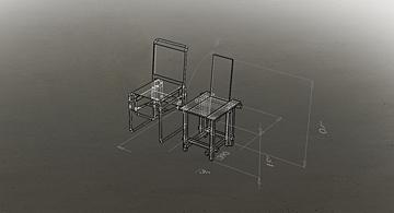 stoelen dimensies