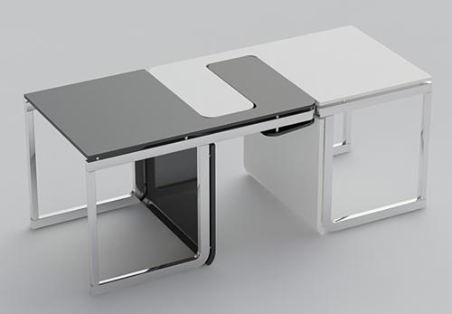 Twee stoelen of een tafel