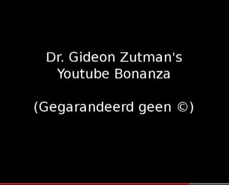 Trendbeheer presenteert: Dr. Gideon Zutman's grote Youtube Ripp-off