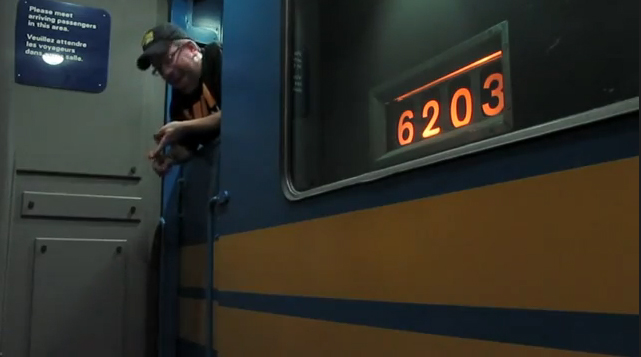 trein in de kelder