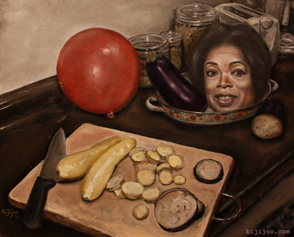 Oprah-Winfrey-with-Eggplant-Squash-and-Balloon