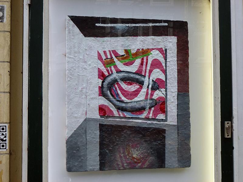 Toon Berghahn @ Overschilderschilderij