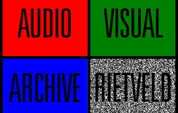 Rietveld Audio Visueel Archief