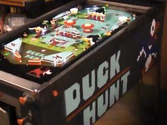 Duck Hunt Pinball Machine